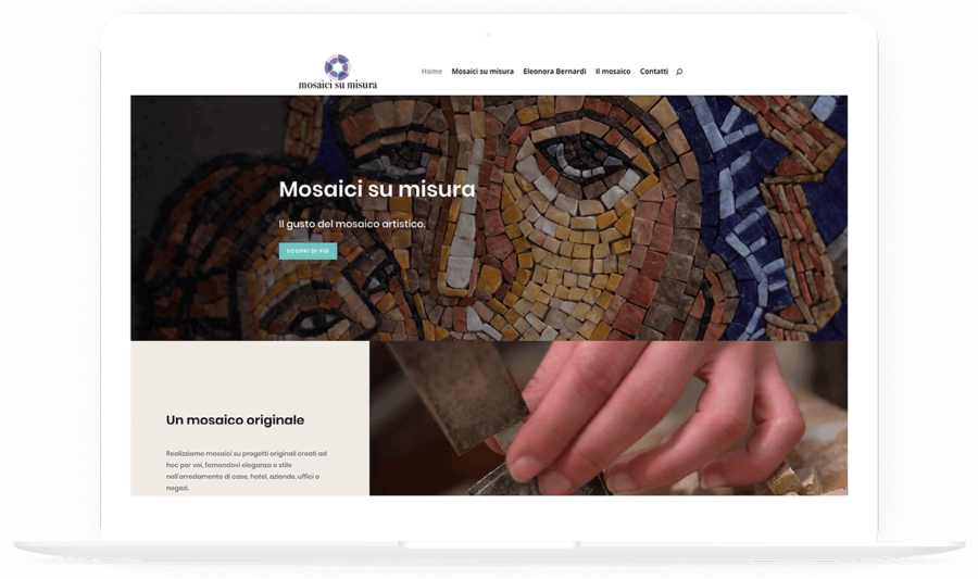 Sito web responsive Mosaici su Misura