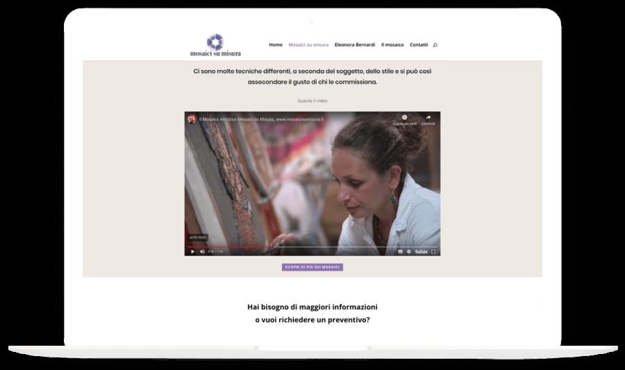 MosaicisuMisura.it – Video intervista ad Eleonora Bernardi